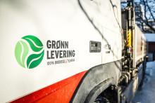 Grønn levering fra Optimera
