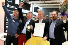 Klimatfabriken vinnare av Nordbyggs guldmedalj 2016