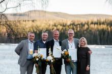 Här är årets vinnare av The Awards of Swedish Lapland