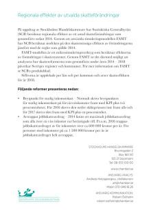 Skatteanalys: Förändringar i jobbskatteavdrag och brytpunkt