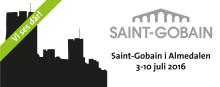 Saint-Gobain på plats i Almedalen 3-10 juli 2016
