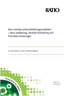 Den svenska yrkesutbildningsmodellen
