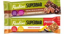 Paulúns Superbars – bara bra mat i fickformat