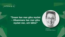 Träffa Catharina - projektledare på Seavus i Stockholm