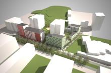 Diligentia renoverar hyresrätter och vill bygga nytt i Jakobsbergs centrum