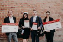 Elever vid Hahrska gymnasiet belönade med Bygmastipendiet