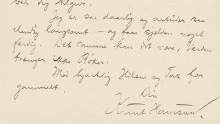 Vigeland-brev tilgjengelig på nett