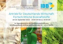 """Politischer Workshop """"Antrieb für Deutschlands Wirtschaft: Fortschrittliche Biokraftstoffe"""""""
