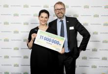 PostkodLotteriet stödjer WaterAid med 11 miljoner