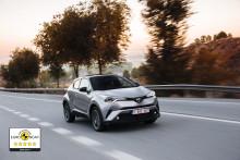 Nye Toyota C-HR tildelt fem stjerner i Euro NCAP sikkerhetstest