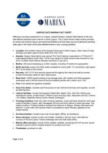 Press Kit #4: Karpaz Gate Marina Fact Sheet