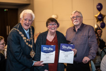 Devon stroke survivor receives regional recognition