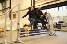 Chalmers världsunika hästhinder snart på plats i Scandinavium