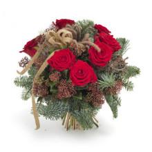 Skicka en julblomma för att bekämpa ensamheten