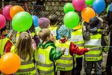 För nionde året i rad –Baklängesmarsch för barnens trafiksäkerhet den 11 maj.