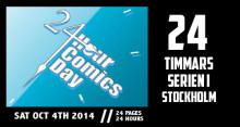 24-timmars serieteckning på Basis helgen 4-5 oktober på Internationella 24timmarsseriedagen