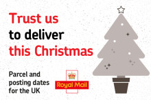 Christmas all wrapped up… parcel and posting dates for the UK