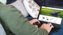 Stiga klipper till. E-handel möjligt för 150 lokala återförsäljare tack vare Resurs Checkout