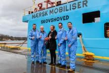 Maerskbåt nummer fem levert frå Kleven i dag