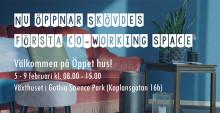 Skövdes första co-working space öppnar i Gothia Science Park