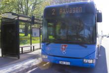 Torgmöten om ökad busstrafik i den västra länsdelen
