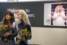 Folkkära Lill-Babs hyllas för sitt liv som artist i Welcome to my hometown på Arlanda