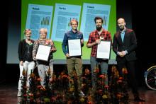 Umeå prisas för cykelsatsningar