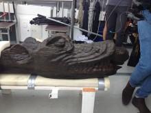 Nationalmuseet konserverer 500 år gammel galionsfigur fra dansk kongeskib