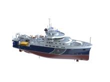 Sveriges nya forskningsfartyg Svea sjösatt