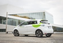 The NSB-Group chooses Renault ZOE