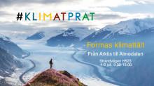 Möt Maxida Märak, Anders Wijkman med fler för #klimatprat i Almedalen