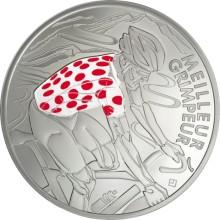 Frankrike uppmärksammar jubilaren Tour de France med minnesmynt
