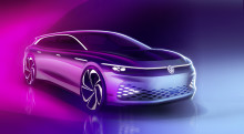 Nytt elbilskoncept från Volkswagen: ID. SPACE VIZZION