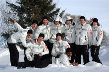 Hektiska mästerskap väntar för LTU' s snöbollskrigare