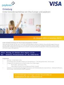 Einladung zum Gründerworkshop am 20. Oktober 2014 in Berlin
