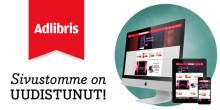 Adlibris-verkkokirjakauppa uudistui!