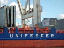 Unifeeder ökar i Helsingborgs Hamn