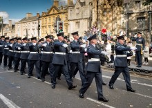 Freedom Parade for Oxford RAF Reserves