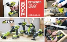 6 nyheter i RYOBI® One Plus 18 volt serien