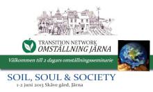 SOIL, SOUL & SOCIETY - 2 dagars Omställningsseminarie