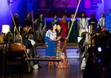 Vox Pacis och Adolf Fredriks musikklasser möts i mångfaldskonsert