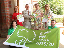 Eight council beauty spots awarded Green Flag status