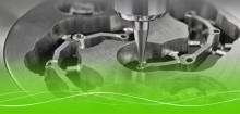 Dentalfräsverktyg med lång verktygslivslängd,  hög kvalitet och precision.