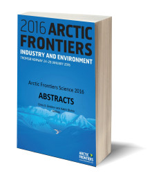 Arctic Frontiers Science 2016 book of abstracts now available for download