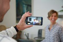 Sveriges största bostadsvisning: Lägenhet i Åre lockade över 1 300 spekulanter via Periscope