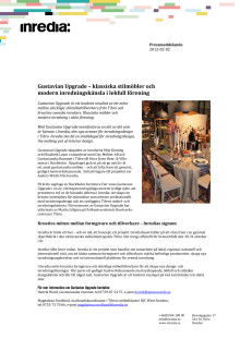 Gustavian Upgrade – klassiska stilmöbler och modern inredningskänsla i lekfull förening