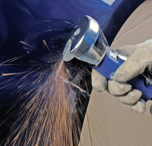New range of cutting-off and grinding wheels for automotive refinish and repair