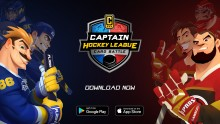 Nu lanseras hockeyspelet Captain Hockey League!