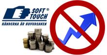 Soft Touch AB behåller priserna på alla handskar 2016