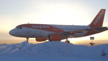 Premiär för direktlinje till Östersund från Bristol med easyJet